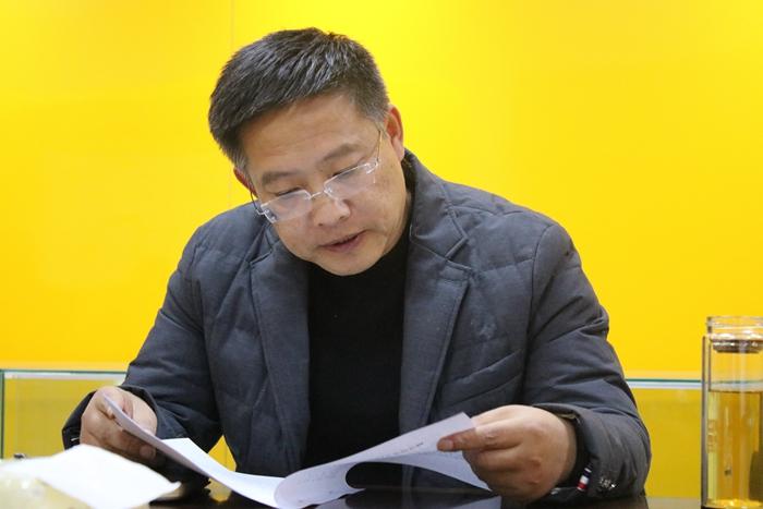 兴发娱乐xf811手机版浦南党支部书记带头讲学习心得.JPG